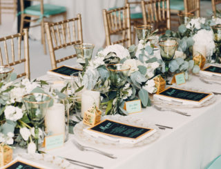 Organiser son mariage : comment disposer les tables ?